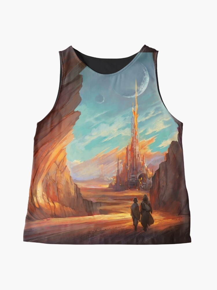 Alternate view of Child of Wrath Cover Sleeveless Top