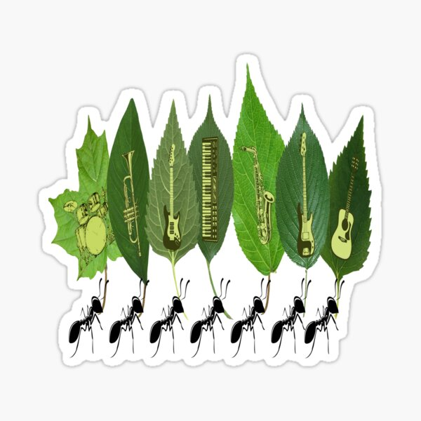 Ants Marching Sticker