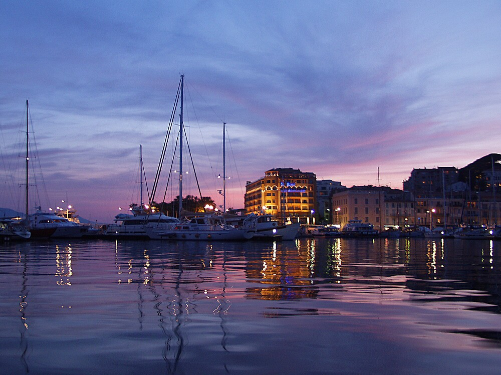Cannes Dusk  by Diana  Kaiani