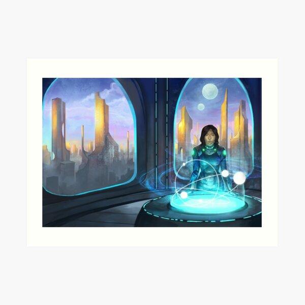 Capital Games Cover Art Print