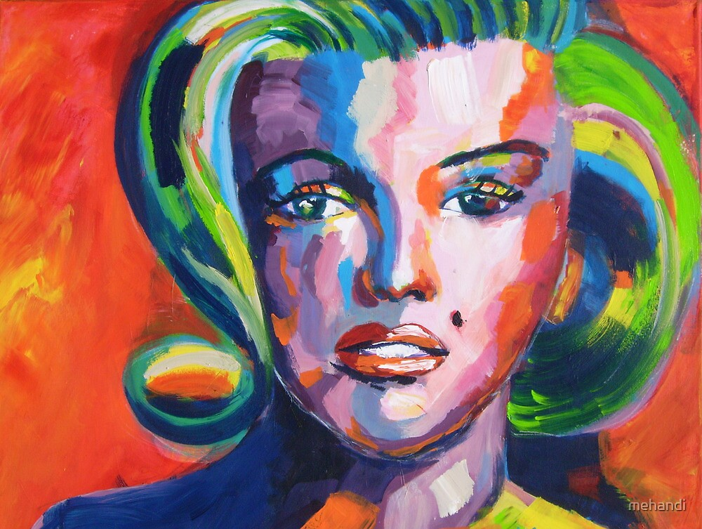 Marilyn by mehandi