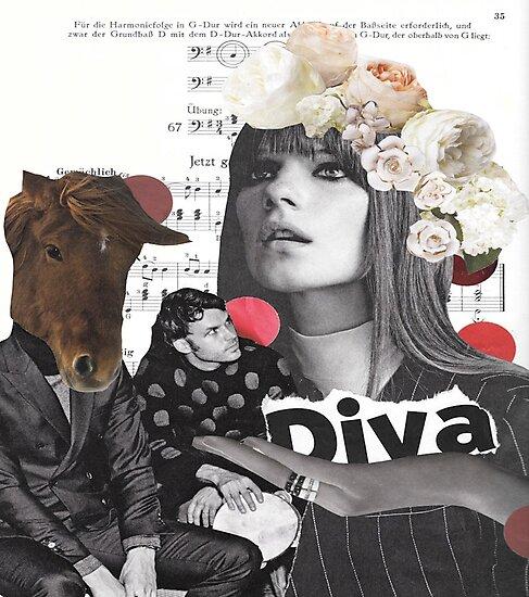 Diva-ttitude by kikicollagist