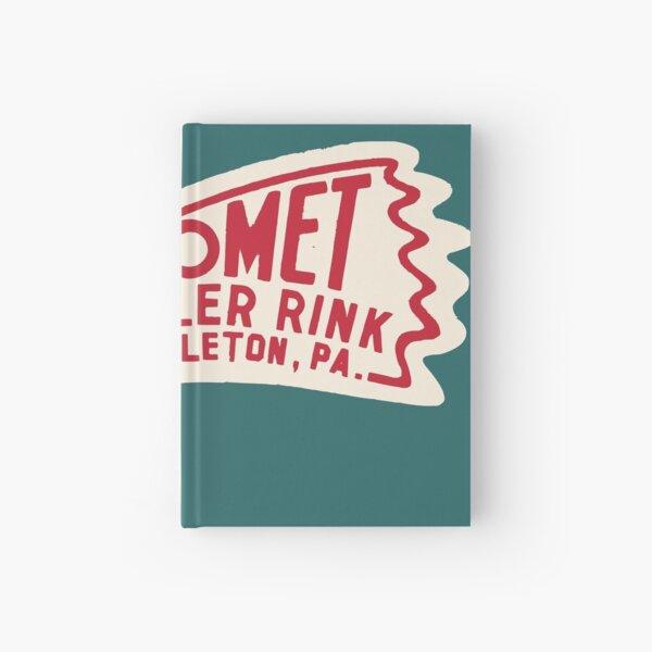 Comet Roller Rink Hardcover Journal