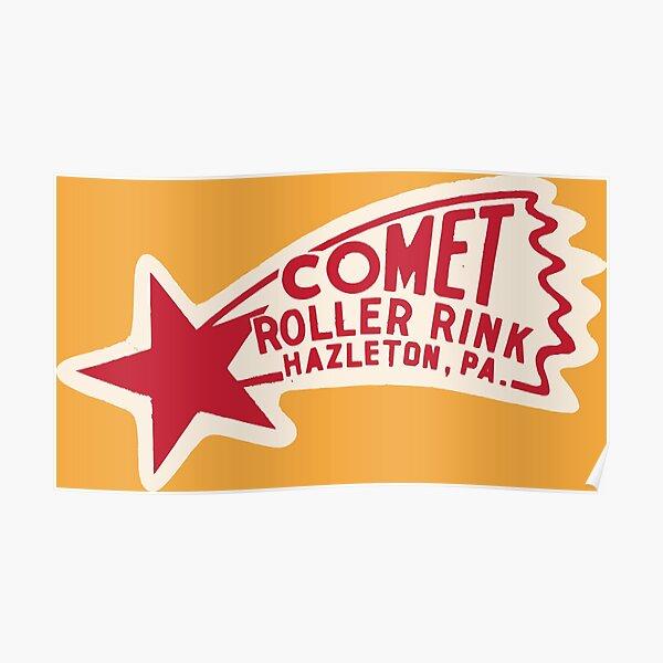 Comet Roller Rink Poster