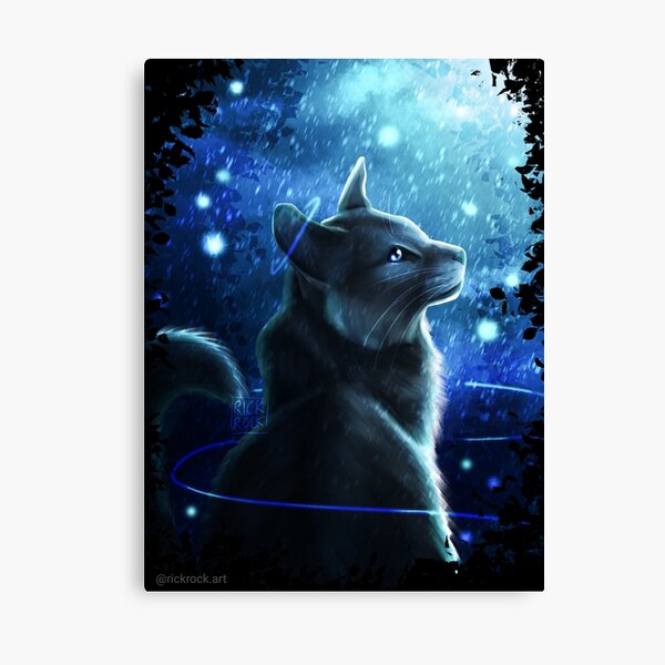 Crowfeather - Warrior Cats Canvas Print