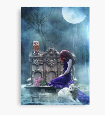 When The Moon Cries  Canvas Print