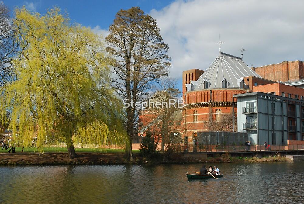 Springtime on the Avon by StephenRB