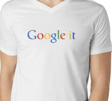 Google it Mens V-Neck T-Shirt