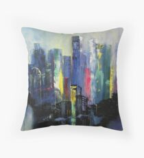 Midtown Point of View Throw Pillow