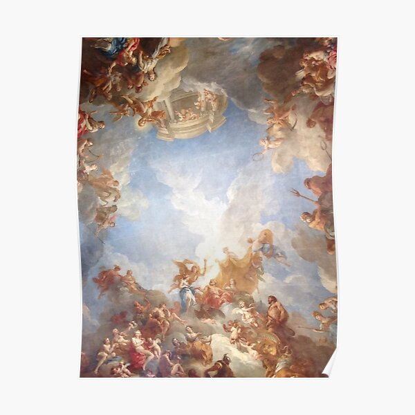 renaissance painting of angels  Poster