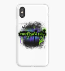 Moriarty was real (mania) iPhone Case/Skin