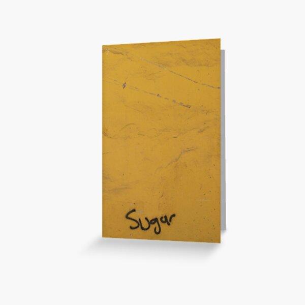Sugar in Yedikule Greeting Card
