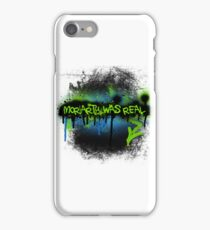 Moriarty was real (electric) iPhone Case/Skin