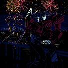 fireworks by koroa