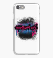 Moriarty was real (bubblegum) iPhone Case/Skin