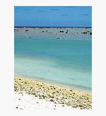 beach Rarotonga Photographic Print