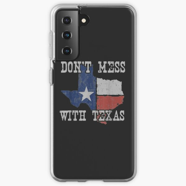 Don't Mess With Vintage Texas Longhorn Lone Star State Samsung Galaxy Soft Case