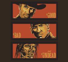 The Western Dead- The Walking Dead Shirt