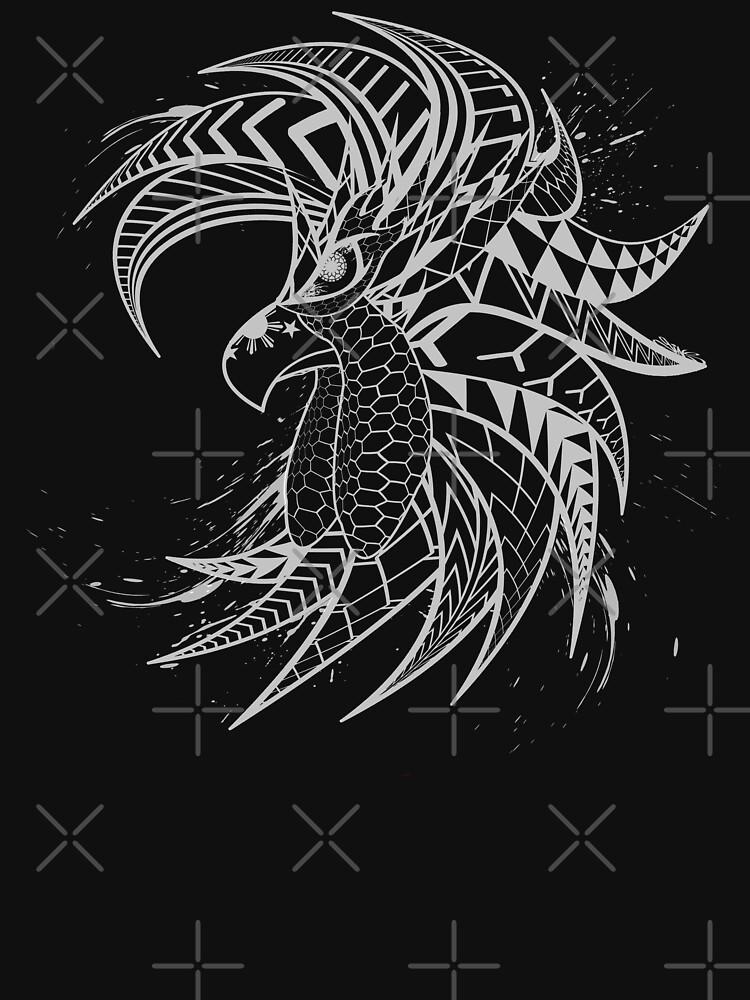 Tribal Fighting Rooster by nostalgink
