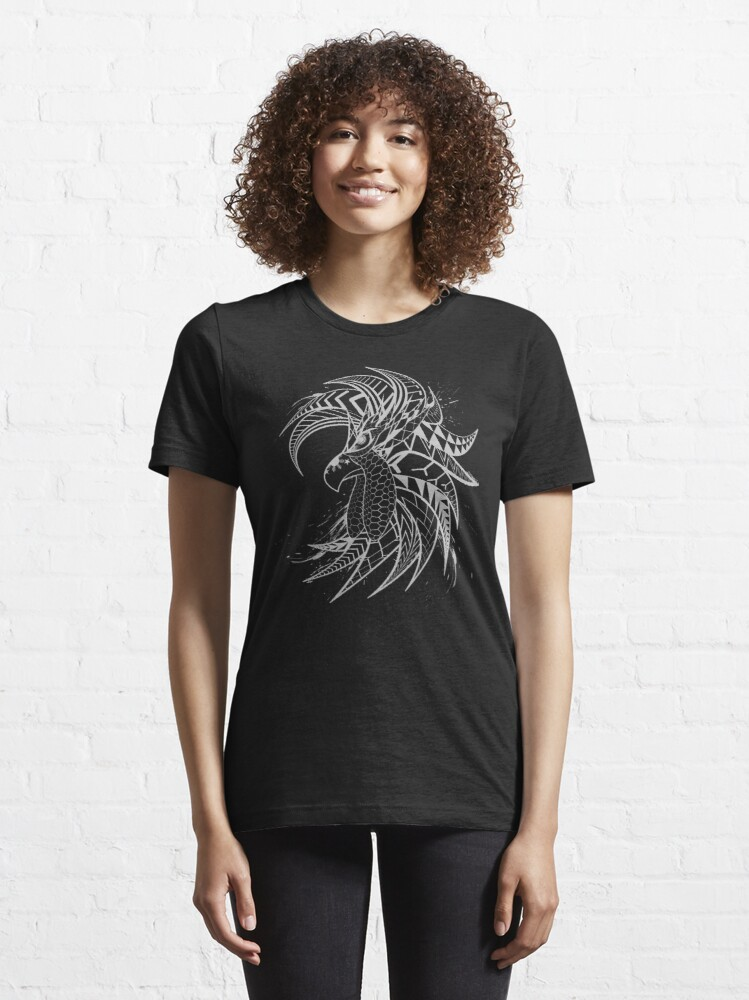 Alternate view of Tribal Fighting Rooster Essential T-Shirt