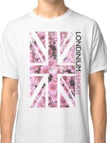 London 2012 - Londinium MMXII Union Jack Floral Classic T-Shirt