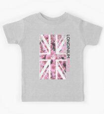 London 2012 - Londinium MMXII Union Jack Floral Kids Tee