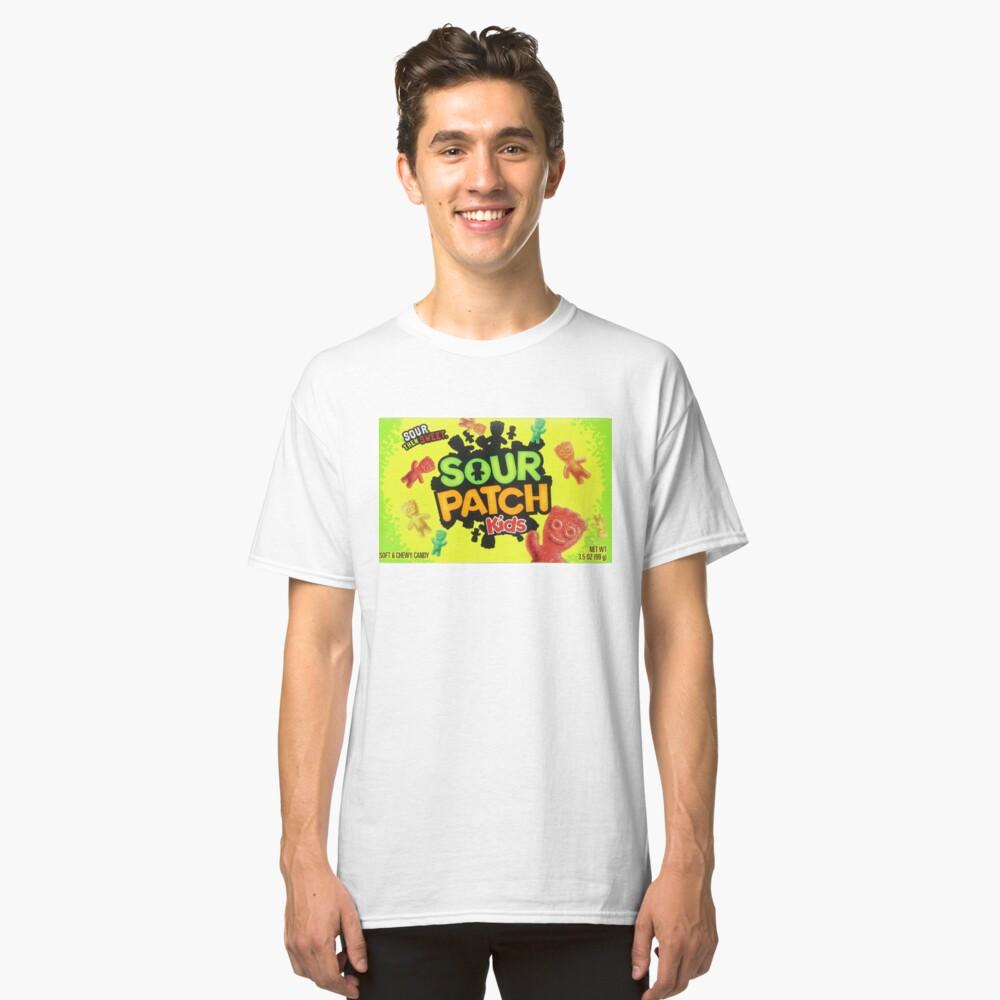 Sour Patch Kids Süßigkeiten Paket vorne Classic T-Shirt