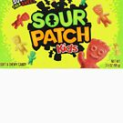 Sour Patch Kids candy package front by thatstickerguy