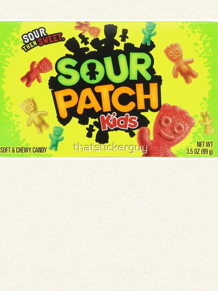 Sour Patch Kids Süßigkeiten Paket vorne von thatstickerguy