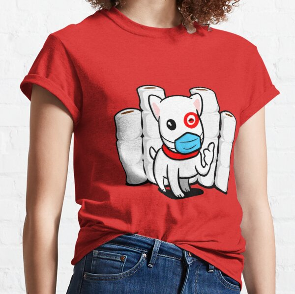 Essential Bullseye Dog with Toilet Paper Classic T-Shirt