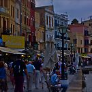 View of the Venetian port of Chania. Greece. by Doctor Faustus. by © Andrzej Goszcz,M.D. Ph.D