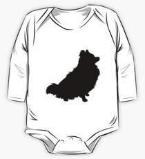 Pomeranian Silhouette Kids Clothes