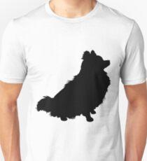 Pomeranian Silhouette Unisex T-Shirt