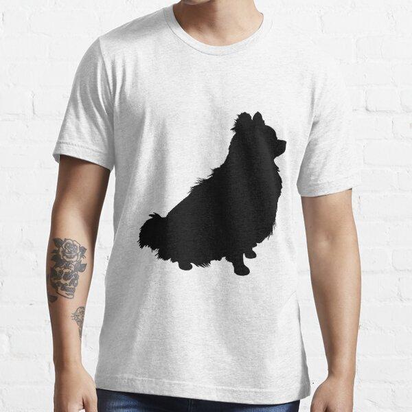 Pomeranian Silhouette Essential T-Shirt