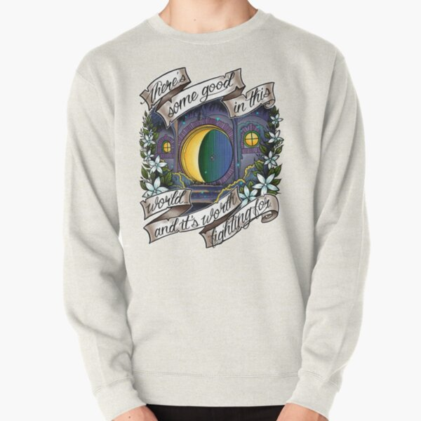 In a Hole in the Ground Pullover Sweatshirt