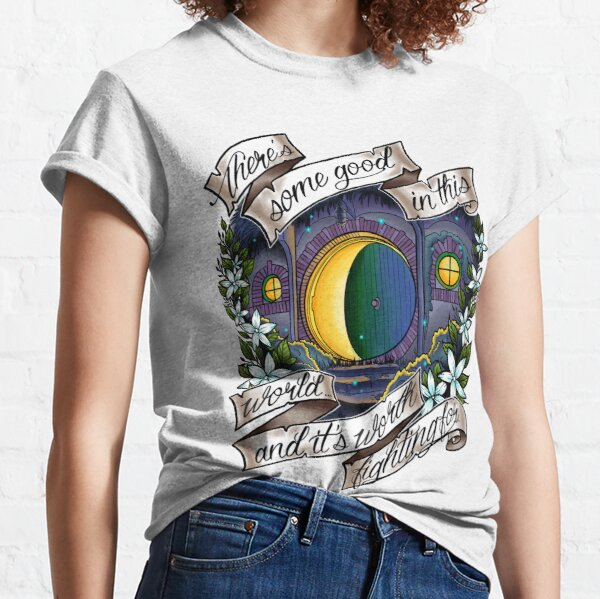 In a Hole in the Ground Classic T-Shirt