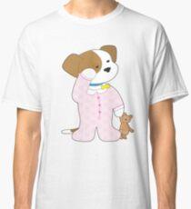 Cute Puppy Pajamas Classic T-Shirt