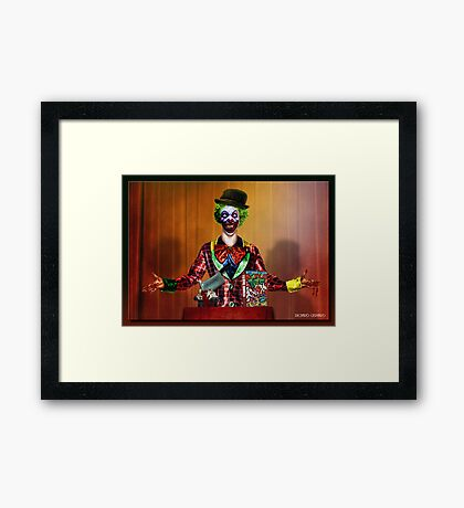 Silly Rabbit..Trix are for Kids Framed Print
