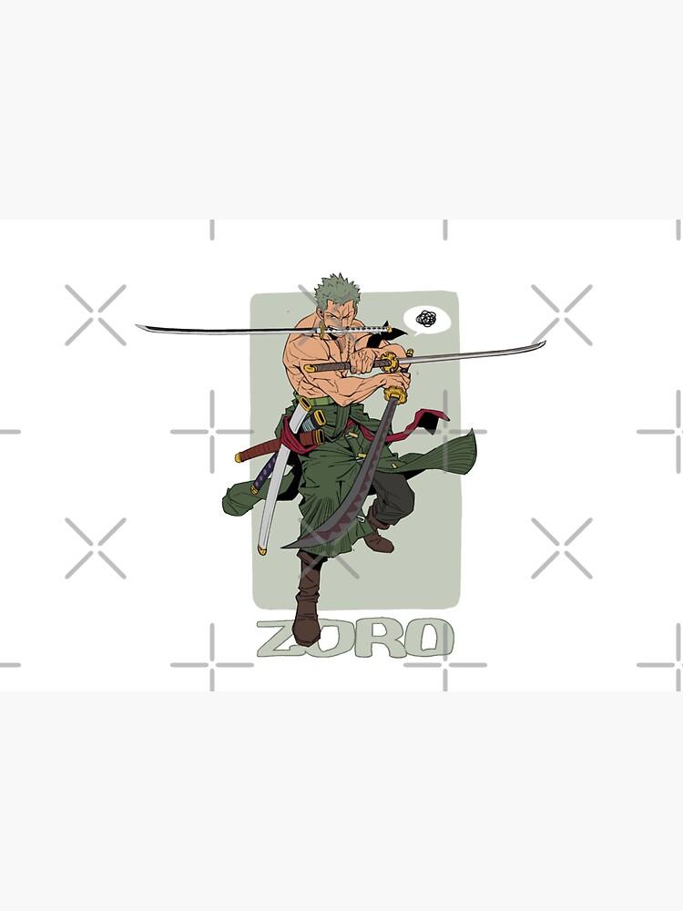 One Piece Zoro The Swordsman by nathanielc1991