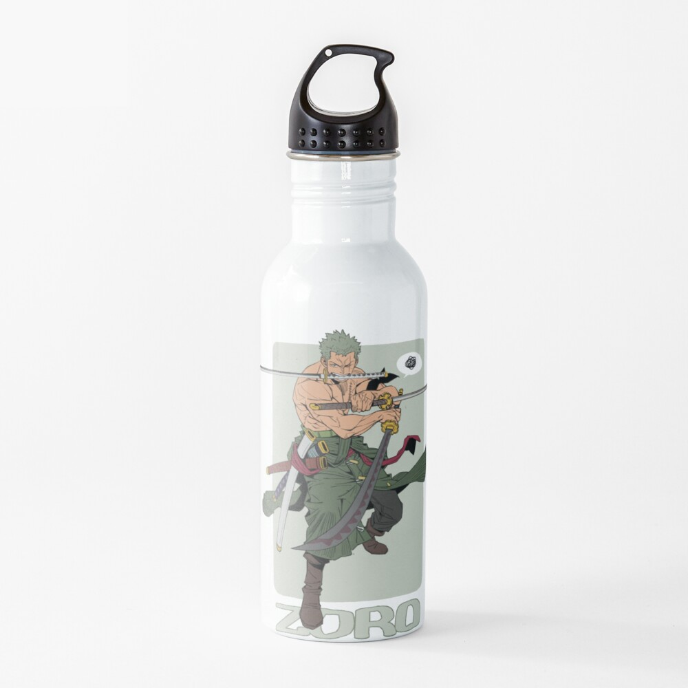 One Piece Zoro The Swordsman Water Bottle