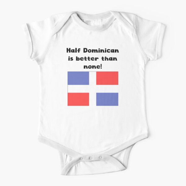 MADE IN AMERICA WITH DOMINICAN REPUBLIC  PARTS INFANT /& TODDLER T-SHIRT
