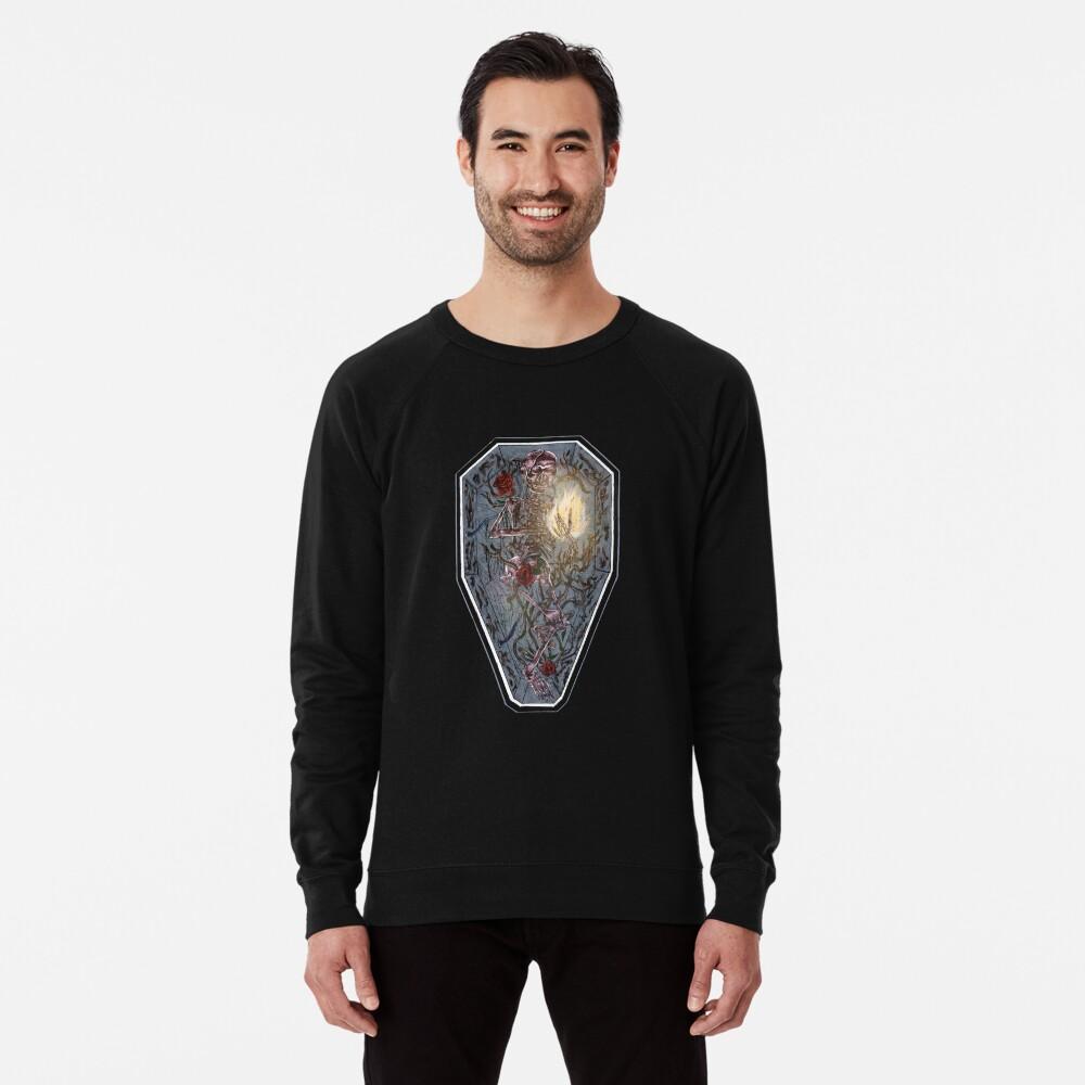 six feet ain't deep enough. Lightweight Sweatshirt
