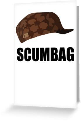 Scumbag steve hat by 305movingart