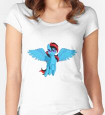 The BronyVille LineUp Hour Women's Fitted Scoop T-Shirt