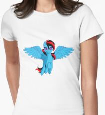 The BronyVille LineUp Hour Women's Fitted T-Shirt