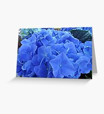 Blue Hues Greeting Card