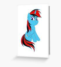 The BronyVille LineUp Hour Greeting Card