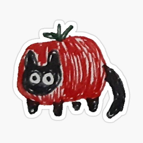 tomato cat Sticker