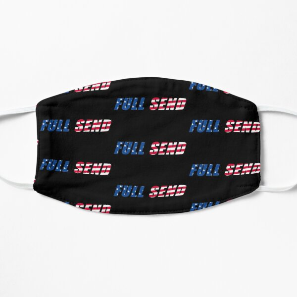 Nelk Boys Full Send USA Logo Mask