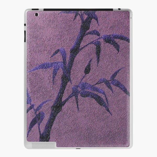 Abstrakter Bambus / Ölbild iPad Klebefolie